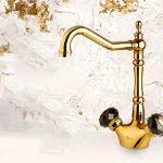 شیرآلات کلاسیک طلایی